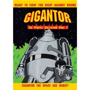 Japanese Anime DVD: Gigantor a.k.a. Tetsujin 28, english subtitles