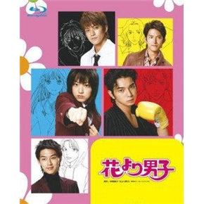 Japanese drama dvd: Hana Yori dango 1 and 2, english subtitle