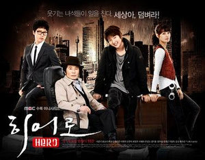 Korean drama dvd: Hero, english subtitles