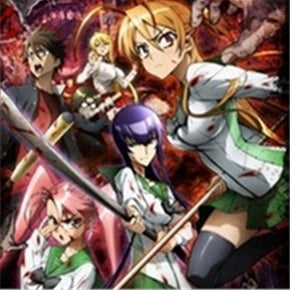 Japanese Anime DVD: High School of the dead, english subtitle