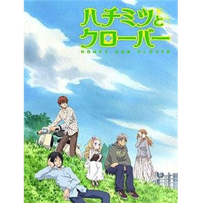 Japanese anime dvd: Honey and clover 1 and 2, english subtitles