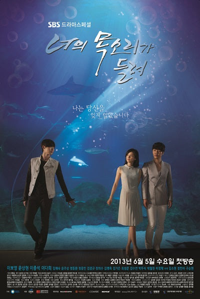 Korean drama dvd: I Hear your voice, english subtitle