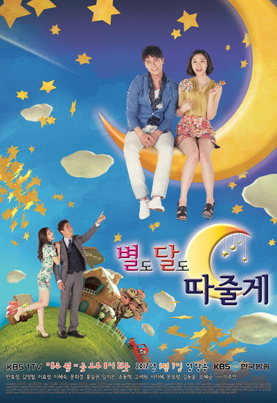 Korean drama dvd: I'll Give you the stars and the moon, english subtitle