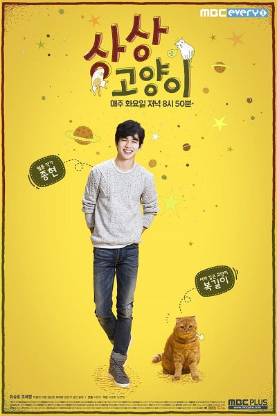 Korean drama dvd: Imaginary cat, english subtitle