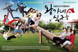 Korean drama dvd: Kings Family, english subtitle
