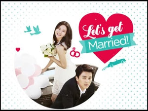 Taiwan drama dvd: Marry Me! a.k.a. Lets Get Married, english subtitle