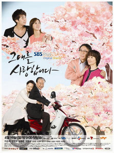 Korean drama dvd: Love you, english subtitle