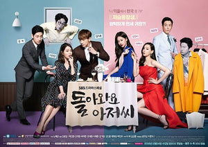 Korean drama dvd: Please come back Mister, english subtitle