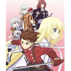 Japanese anime dvd: Tales of symphonia, english subtitles