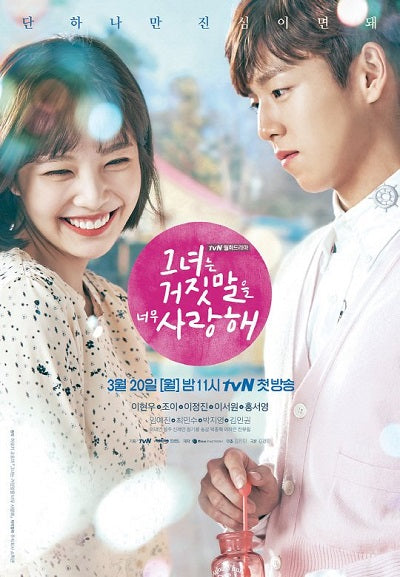 Korean drama dvd: The liar and his lover, english subtitle