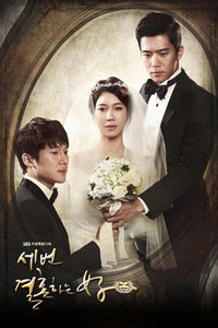 Korean drama dvd: The woman who married three times, english subtitle