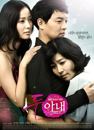 Korean drama dvd: Two Wives, english subtitle
