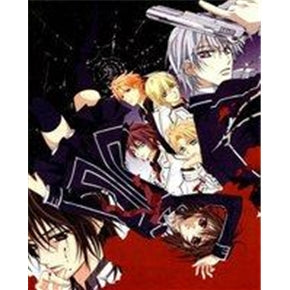 Japanese anime DVD: Vampire Knight Season 1, English subtitles