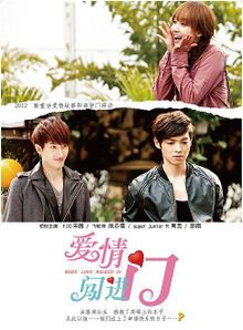 Taiwan drama dvd: When love walked in, english subtitle