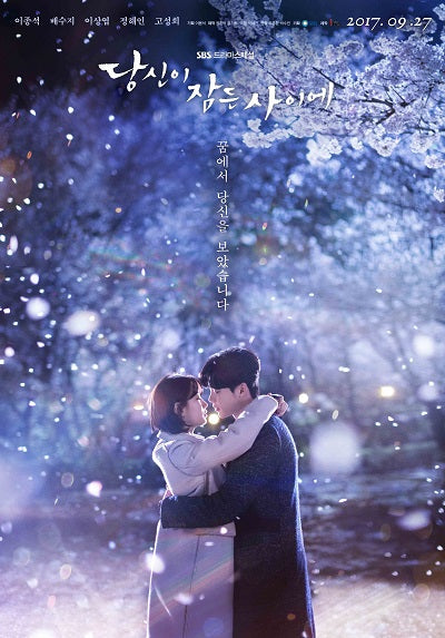 Korean drama dvd: While you were sleeping, english subtitle