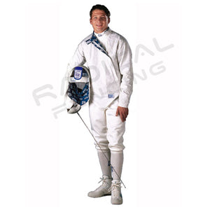 RF PBT Mens Inox, Washable Electric Sabre Jacket, Lame - Radical Fencing: the Best Fencing Equipment
