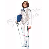RF PBT Womens Inox, Washable Electric FOIL Jacket, Lame - Radical Fencing: the Best Fencing Equipment