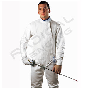 RF PBT Mens Inox, Washable Electric FOIL Jacket, Lame - Radical Fencing: the Best Fencing Equipment