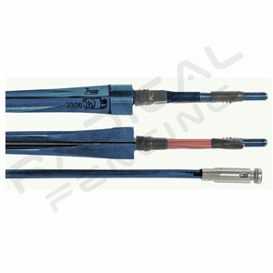 RF PBT BF Blue FIE Maraging Electric Epee Blade - Radical Fencing: the Best Fencing Equipment