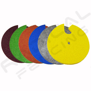 RF P Electric Foil and Sabre Guard Pad Felt - Radical Fencing: the Best Fencing Equipment