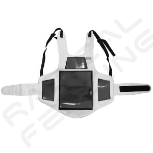 RF Nasycon Fencing Foil Vest with Magnetic Target - Radical Fencing: the Best Fencing Equipment