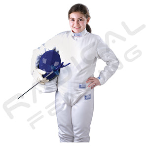 RF PBT Children Fencing Knickers 350N Elastic material-Child-30 inches - Radical Fencing: the Best Fencing Equipment