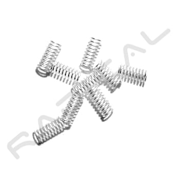 RF P French epee contact (small) springs, pack of 10 - Radical Fencing: the Best Fencing Equipment