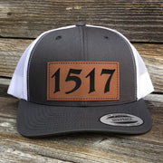 1517 - Patch Hat - Hat - The Reformed Sage - reformed - reformed gifts - christian gifts - christian hoodie - christian apparel - christian decor - christian art -