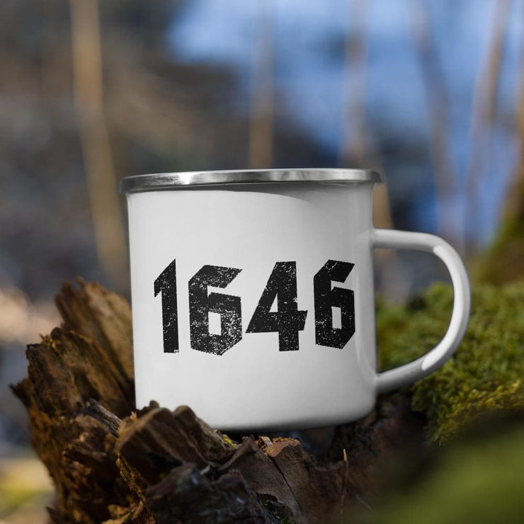 1646 - Enamel Mug - The Reformed Sage - reformed - reformed gifts - christian gifts - christian hoodie - christian apparel - christian decor - christian art -