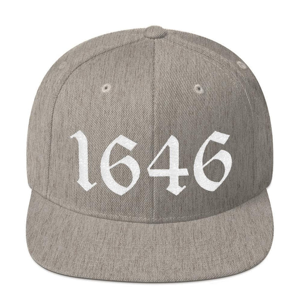 1646 Snapback - Hat - The Reformed Sage - reformed - reformed gifts - christian gifts - christian hoodie - christian apparel - christian decor - christian art -