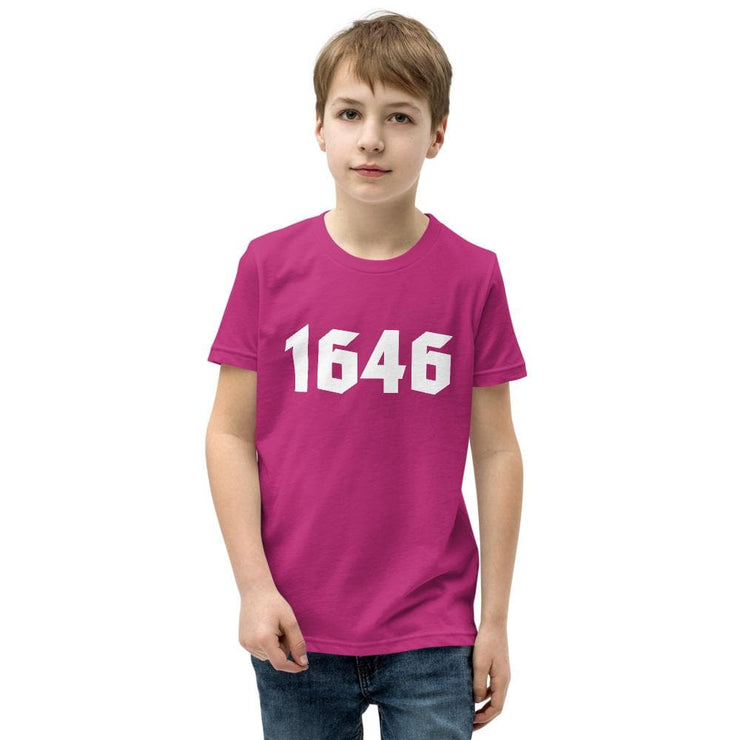 1646 - Youth T-Shirt - The Reformed Sage - reformed - reformed gifts - christian gifts - christian hoodie - christian apparel - christian decor - christian art -