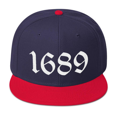 1689 Snapback - hat - The Reformed Sage - reformed - reformed gifts - christian gifts - christian hoodie - christian apparel - christian decor - christian art -