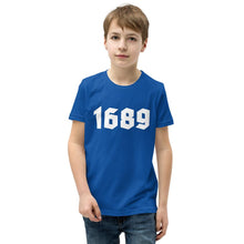 Load image into Gallery viewer, 1689 - Youth T-Shirt - The Reformed Sage - reformed - reformed gifts - christian gifts - christian hoodie - christian apparel - christian decor - christian art -