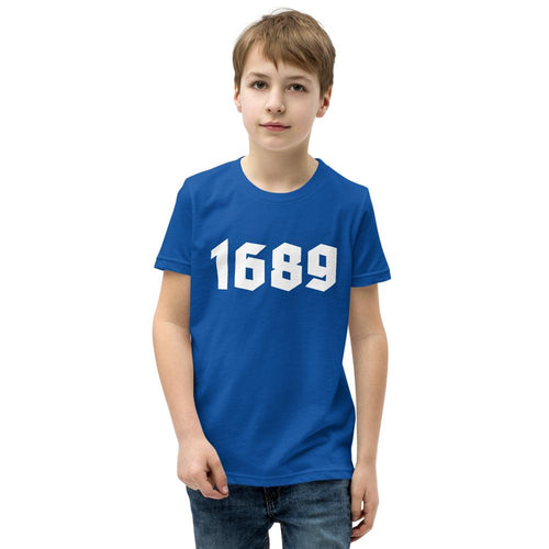 1689 - Youth T-Shirt - The Reformed Sage - reformed - reformed gifts - christian gifts - christian hoodie - christian apparel - christian decor - christian art -