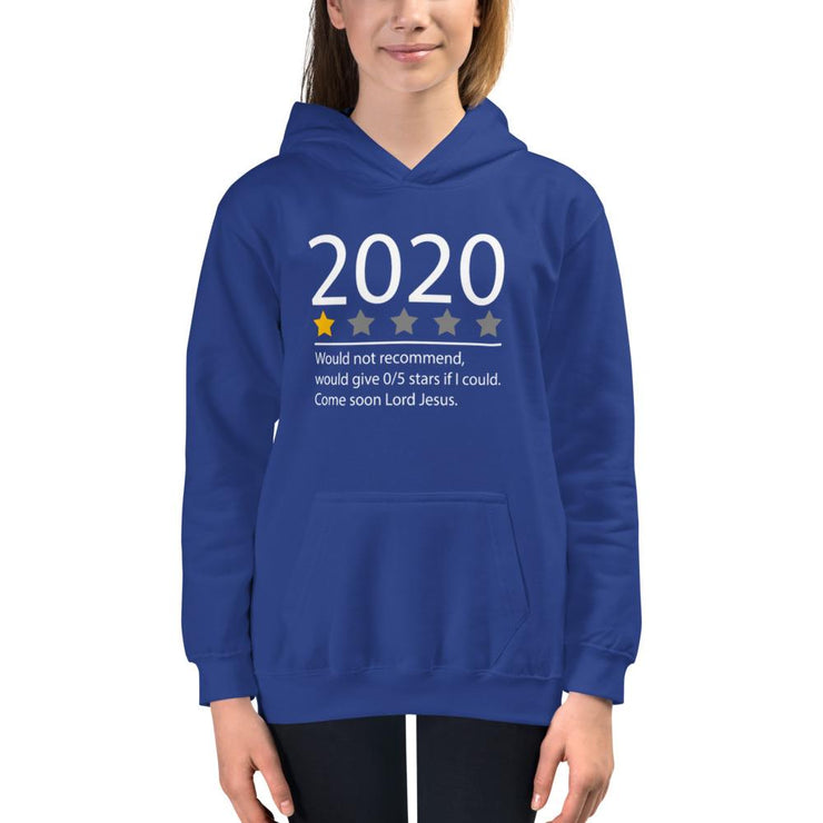 2020 - Kids Hoodie - The Reformed Sage - reformed - reformed gifts - christian gifts - christian hoodie - christian apparel - christian decor - christian art -