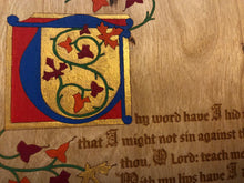 Load image into Gallery viewer, Psalm 119 - Illuminated Manuscript