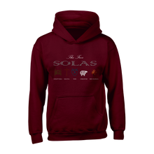 Load image into Gallery viewer, The Five Solas - Hoodie - Hoodie - The Reformed Sage - reformed - reformed gifts - christian gifts - christian hoodie - christian apparel - christian decor - christian art -