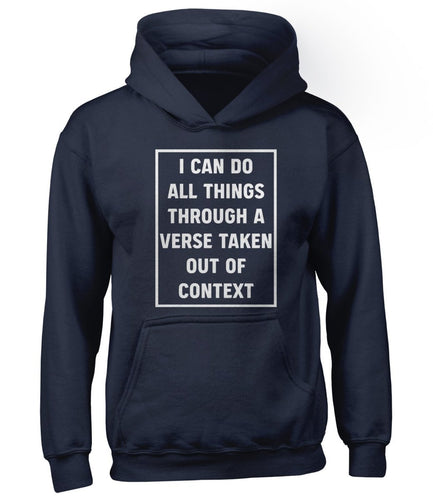 All Things - Hoodie - Hoodie - The Reformed Sage - reformed - reformed gifts - christian gifts - christian hoodie - christian apparel - christian decor - christian art -