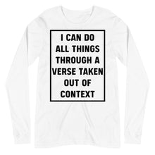Load image into Gallery viewer, All Things - Long Sleeve - The Reformed Sage - reformed - reformed gifts - christian gifts - christian hoodie - christian apparel - christian decor - christian art -