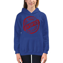 Load image into Gallery viewer, Certified - Kids Hoodie - The Reformed Sage - reformed - reformed gifts - christian gifts - christian hoodie - christian apparel - christian decor - christian art -