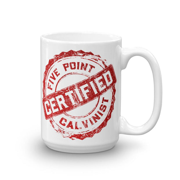 CERTIFIED - Mug - Mug - The Reformed Sage - #reformed# - #reformed_gifts#