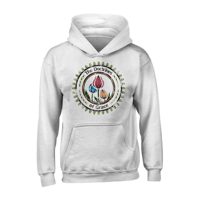 Doctrines of Grace - Hoodie - Hoodie - The Reformed Sage - reformed - reformed gifts - christian gifts - christian hoodie - christian apparel - christian decor - christian art -