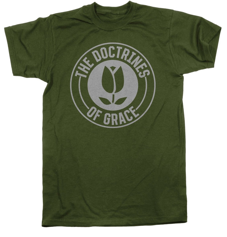 Doctrines of Grace Redux - Tee - Shirt - The Reformed Sage - #reformed# - #reformed_gifts#