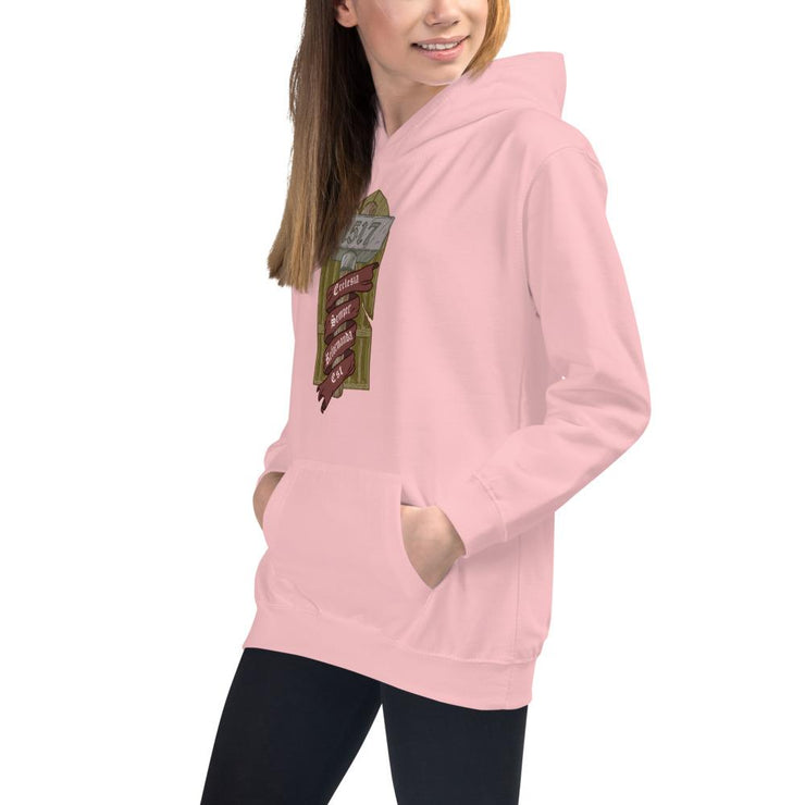 Ecclesia Semper Reformanda Est - Kids Hoodie - The Reformed Sage - reformed - reformed gifts - christian gifts - christian hoodie - christian apparel - christian decor - christian art -