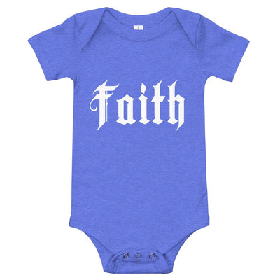 Faith - onesie - The Reformed Sage - reformed - reformed gifts - christian gifts - christian hoodie - christian apparel - christian decor - christian art -