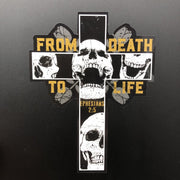 From Death to Life - Decal - Decal - The Reformed Sage - reformed - reformed gifts - christian gifts - christian hoodie - christian apparel - christian decor - christian art -