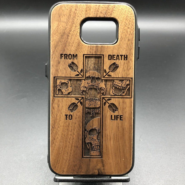 From Death To Life - Engraved - ECPC - The Reformed Sage - reformed - reformed gifts - christian gifts - christian hoodie - christian apparel - christian decor - christian art -