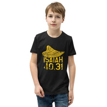 Load image into Gallery viewer, Isaiah 40.31 - Youth T-Shirt - The Reformed Sage - reformed - reformed gifts - christian gifts - christian hoodie - christian apparel - christian decor - christian art -
