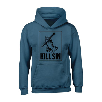 KILL SIN - Hoodie - Hoodie - The Reformed Sage - reformed - reformed gifts - christian gifts - christian hoodie - christian apparel - christian decor - christian art -