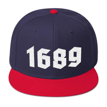 Load image into Gallery viewer, 1689 Snapback v2 - Hat - The Reformed Sage - reformed - reformed gifts - christian gifts - christian hoodie - christian apparel - christian decor - christian art -